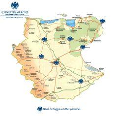 Uffici Confcommercio Imprese per l'Italia Provincia di Foggia