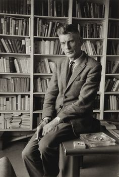Samuel Beckett by Gisèle Freund, 1965 Samuel Beckett, Cecil Beaton, James Joyce, Photographs Of People, Writers Write, French Photographers, Portraits, High Society, Documentary Photography