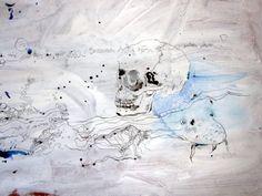 Der Wels kommt wieder hervor (c) Zeichnung von Susanne Haun