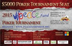 PEACE FUND GAMES 2015 MICROSOFT POKER TOURNAMENT