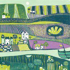 Layla Khani - Fine Art Paintings and Printmaking based in Malvern, UK - Printmaking