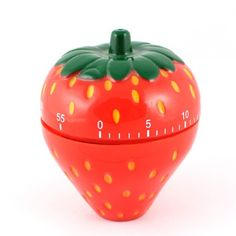 Aliexpress.com : Buy 60 Minute Mechanical Timer for Kitchen Homework Strawberry Shaped from Reliable Mechanical Timer suppliers on Chinatownmart (HongKong) Limited