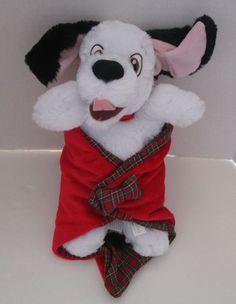 "NWT DISNEY DOGS 101 DALMATIANS CRUELLA DE VIL BEAN BAG PLUSH COLLECTION 10/"""