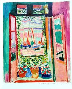 Matisse's Open Window