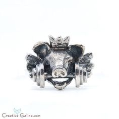 Royal Pig Ring