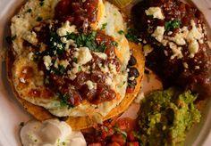 MyEyeQ: Studio Huevos Rancheros with Spicy Short Ribs Pico Recipe, Huevos Rancheros, Breakfast In Bed, Short Ribs, I Foods, Vegetable Pizza, Baked Potato, Spicy, Beans