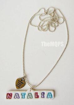 Imiennik - naszyjnik / Name - necklace