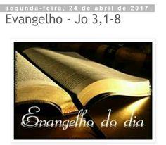 """""""Em verdade, em verdade, te digo, se alguém não nasce da água e do Espírito, não pode entrar no Reino de Deus"""" (Jo 3, 5  Continue em nosso blog ..."""