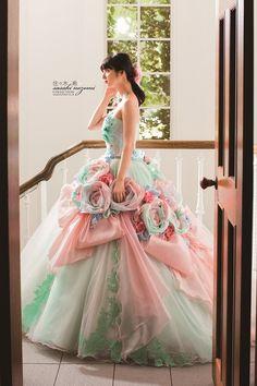 佐々木希 カラードレス (Nozomi-014)|佐々木希 COLLECTIONドレス|岐阜・名古屋の貸衣裳・ドレスレンタル ウェディングプラザ二幸