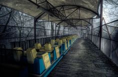 #fotografía: Escalofriantes imágenes de parques de diversiones abandonados