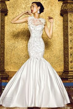 yumi katsura bridal 2013 nairobi mermaid wedding dress