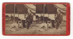 Custer early stereo view card.