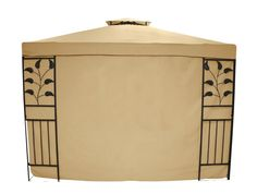 Testrut Livorno 469913 Set of 2 Side Walls without Windows 160 g Beige -- To view further for this article, visit the image link. #frenchgarden