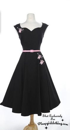 Pinup Couture Annalise swing rockabilly dress