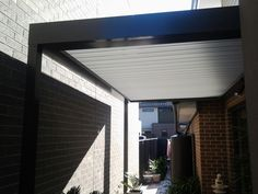 """Tight shaded area perfect for an opening roof to provide light """"on call""""."""