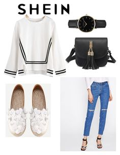 """Untitled #20"" by azradesing ❤ liked on Polyvore featuring WithChic and ROSEFIELD"