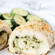 Mozzarella Pesto Stuffed Chicken
