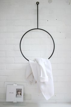 Round clothing rail | Love Aestethics + Annaleena via Hannas Room