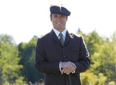 Murdoch (Yannick Bisson) on the teeing ground