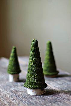 $ Knitting Pattern - Pine Tree - Christmas Tree - Weihnachtsbaum