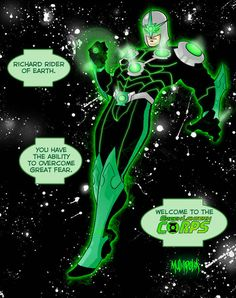 The Green Nova Corps | 23 Heroes Who Would Make Incredible Green Lanterns
