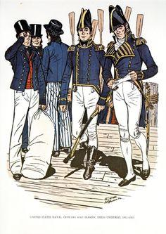 British Navy Uniforms 1812-1815