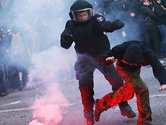 Las protestas y los encuentros bilaterales marcan el G-20