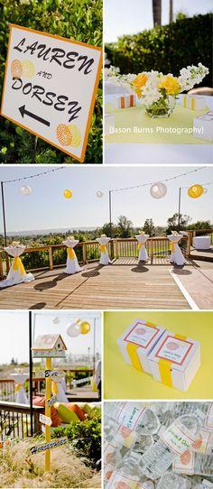 Back Yard Wedding Ideas! Love this!!!