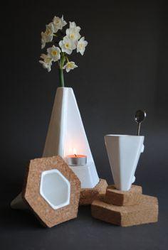 Ceramics and cork