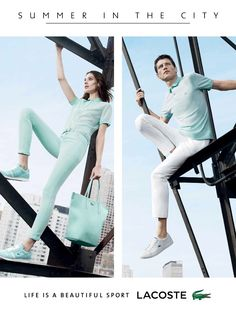 Lacoste Summer in the City image Lacoste Summer 2014 001