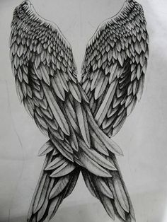 Angel Wings by Andy-DeviantArt on DeviantArt Wing Tattoo – Fashion Tattoos Future Tattoos, Love Tattoos, Beautiful Tattoos, Body Art Tattoos, Tattoo Drawings, New Tattoos, Wing Tattoos, Tattoo Pics, Celtic Tattoos