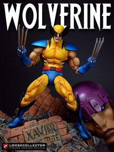 Jim Lee Wolverine v2 (Marvel Legends) Custom Action Figure