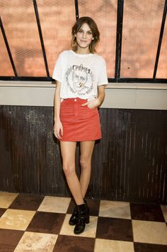 Alexa Chung. Everything about this.  And I mean ev.er.y.th.i.n.g.  She is just the best.