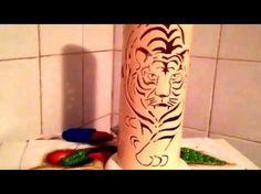Luminarias tigre e flores - YouTube