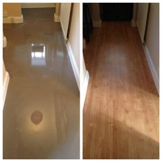 FBall screed and Karndean fitted to a hallway.