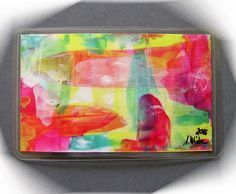 Acrylmalerei - Kunstgalerie Winkler Taschenkunst Malerei 32 Neu - ein Designerstück von Kunstgalerie-Winkler bei DaWanda