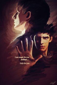 I use it for you, Arthur, Only for you, stupid Merlin making me upset Merlin Quotes, Merlin Memes, Sherlock Quotes, Merlin And Arthur, King Arthur, Merlin Fandom, Merlin Colin Morgan, Merlin Cast, Bradley James