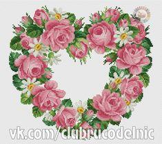 Roses Heart Wedding or Anniversary Sampler Cross Stitch Kit Florashell Dmc Cross Stitch, Cross Stitch Tree, Cross Stitch Heart, Cross Stitch Flowers, Cross Stitching, Cross Stitch Embroidery, Cross Stitch Designs, Cross Stitch Patterns, Hand Embroidery Kits