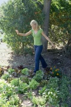 You can grow some vegetables in partial or dappled shade.