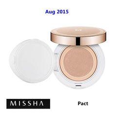 [ Missha ] Cream Tension Pact SPF37 PA++ 15g, Korean Best Cosmetics, Free Shipping