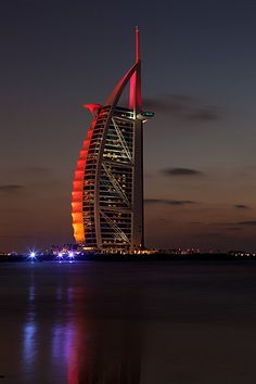 Burj Al Arab Hotel in Dubai. This was on Owl City's Ocean Eyes album! I'm so dorky. | travel in ...