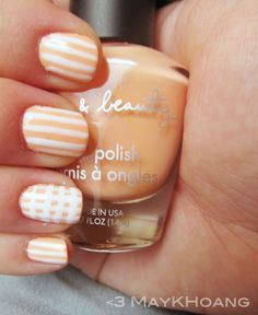 Pretty Painted Fingers Toes Nail Polish| Serafini Amelia| Orange -Creamsicle Nail Art