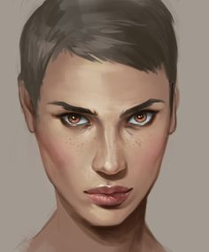 Digital artist Charlie Bowater reveals her top brush choices for emulating the skin's natural texture and imperfections.