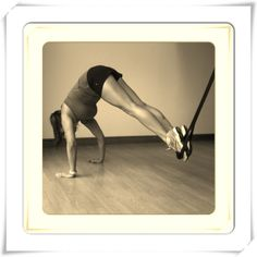 #ztrainer #suspension trainer - great way for challenging #core #workout