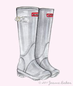 Hunter Wellies! by @JoannaLBaker