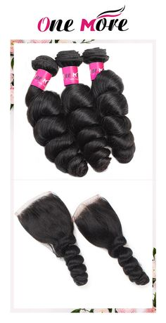 One More Loose Wave Brazilian Hair 3 Bundles With 4*4 Lace Closure,Wholeslae Cheap Hair Weft Bundles And Free&Middlle&Three Part Lace Closure Free Shipping