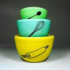 Circa Ceramics: Bakers Urban Set, 3 Pieces - Fab.com
