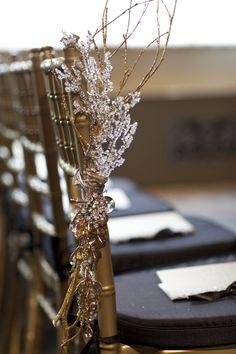 Art Deco Inspired Cincinnati Wedding from Viva Bella Events    Read more - http://www.stylemepretty.com/2013/02/01/art-deco-inspired-cincinnati-wedding-from-viva-bella-events/