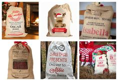 Santa's Sack DIY with free printable