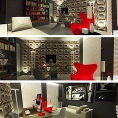 Mais imagens do Consultório da Sexóloga, criação da Rangel Produções Artísticas e Design de Interiores. (rangel@rangelproducoesedesigndeinteriores.com)